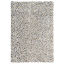 Young Hand-Tufted Pure New Wool Shag Rug