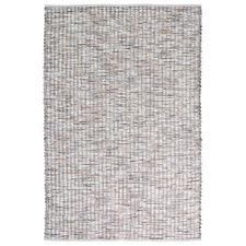Slate Grain Hand-Woven Pure New Wool Rug