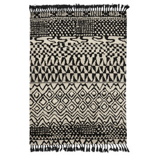 Marakesh Arabiska Hand-Knotted Pure New Wool Rug