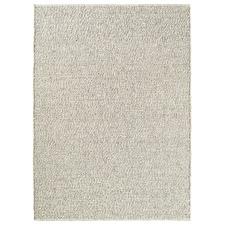 Grey Tumble Hand-Woven Pure New Wool Rug
