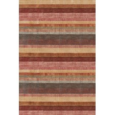 Stonover Stripe Multi Knotted Woven Rug