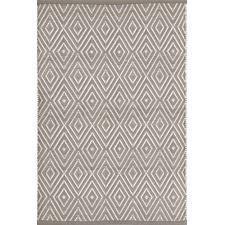 Indoor/Outdoor Diamond Fieldstone Woven Rug