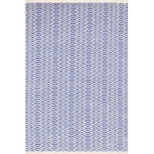 Fair Isle French Blue Woven Rug