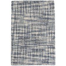Blue Olio Wool Rug