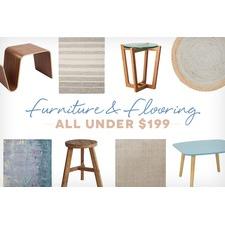 Furniture & Flooring under $199