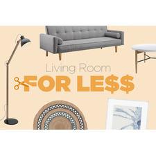 Living Room For Less