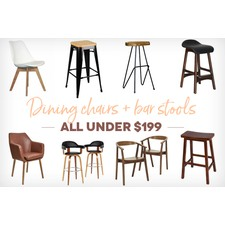 Dining Chairs & Bar Stools Under $199