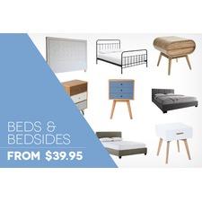 Beds, Bed Heads & Bedsides Under $299