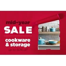 Cookware & Storage On Sale