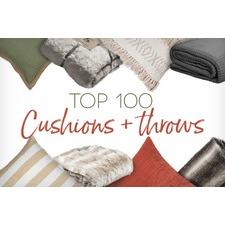 Top 100 Cushions & Throws