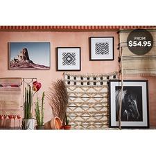 Desert-Inspired Art & Rugs