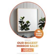 Our biggest mirror sale