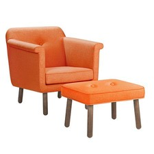 Accent Chair Orange