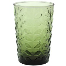 Olive Raised Stem Highball Glasses (Set of 6)