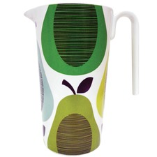 Peppermint Giant Pear Melamine Pitcher