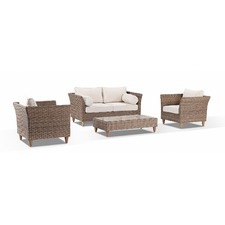 Carolina 4 Seater Outdoor Lounge Set