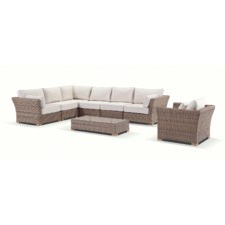 Coco 6 Seater Corner Modular Outdoor Sofa Set