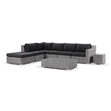 Milano 5 Seater Outdoor Chaise Modular Lounge Set