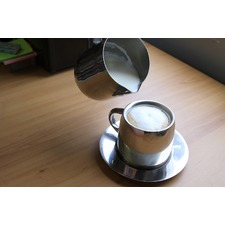 Cappucino Cup and Saucer (Set of 2)