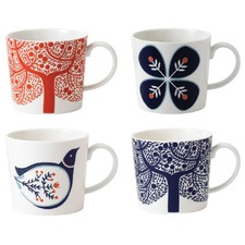 Royal Doulton Fable Mug Set 4