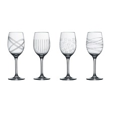 Royal Doulton Party Wine Glasses Set of 4