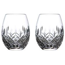 Royal Doulton Highclere 560ml Stemless Balloon Glasses (Set of 2)