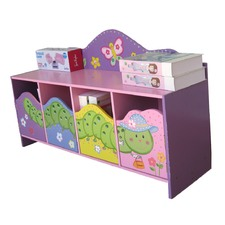 Worm Theme Storage Cupboard Bench