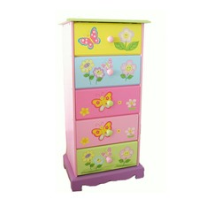 Fairy Serials Tallboy Chest Storage Cabinet