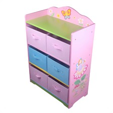 Girls Fairy Toy Storage Box
