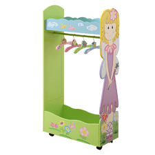 All 4 Kids Olivia The Fairy Wooden Clothing Rack