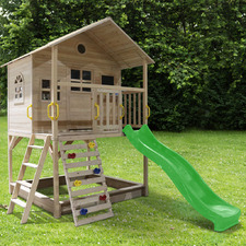 All 4 Kids Aiden Play Centre with Slide & Sand Pitch Set