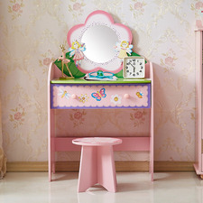 All 4 Kids Olivia The Fairy Dressing Table with Stool