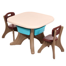 All 4 Kids 3 Piece Andrew Table & Chair Set