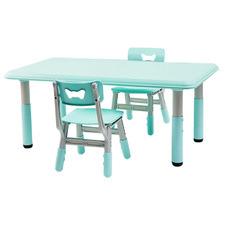 All 4 Kids Blue Alex 3 Piece Table & Chair Set