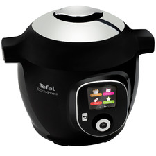 Black Tefal Cook4Me+ Multicooker & Pressure Cooker