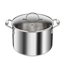 Tefal French Heritage Triply 24cm Stainless Steel Stockpot