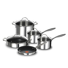 5 Piece Tefal French Heritage Triply Induction Cookware Set
