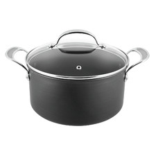 Jamie Oliver Premium 24cm Aluminium Induction Stew Pot with Lid
