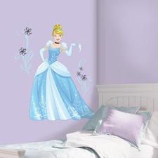 Disney Sparkling Cinderella Wall Decals