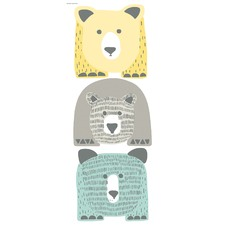 Bears Giant Wall Decals