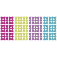 Multi Glitter Confetti Dots Wall Decals