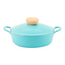 Retro Mint 2L Induction Shallow Casserole