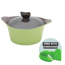 Nature+ Green 4.5L Induction Casserole