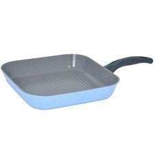Marble Blue Luke Hines 28cm Grill Pan