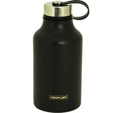 Black All Day Double Wall 2L Water Bottle