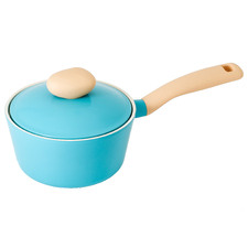 Retro Mint 18cm/1.8L Induction Saucepan