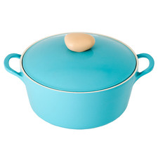 Retro Mint 5.5L Induction Casserole