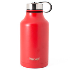 Red All Day Double Wall 2L Water Bottle
