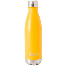 Yellow Classic 500ml Stainless Steel Bottle