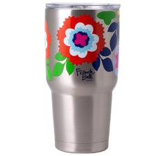 French Bull Floral 810ml Stainless Steel Travel Mug